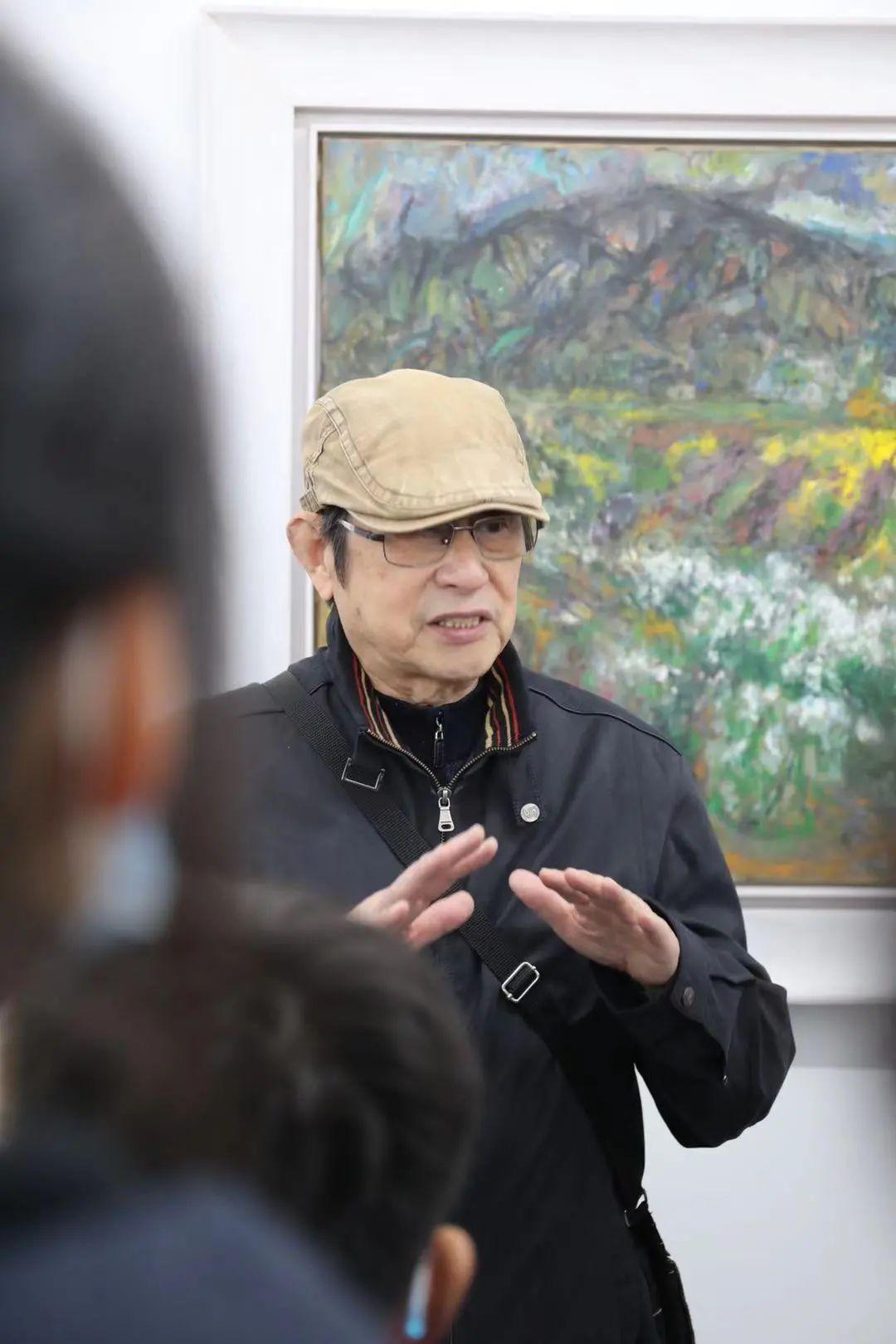 艺术家陈天龙为少美校师生解读艺术精神