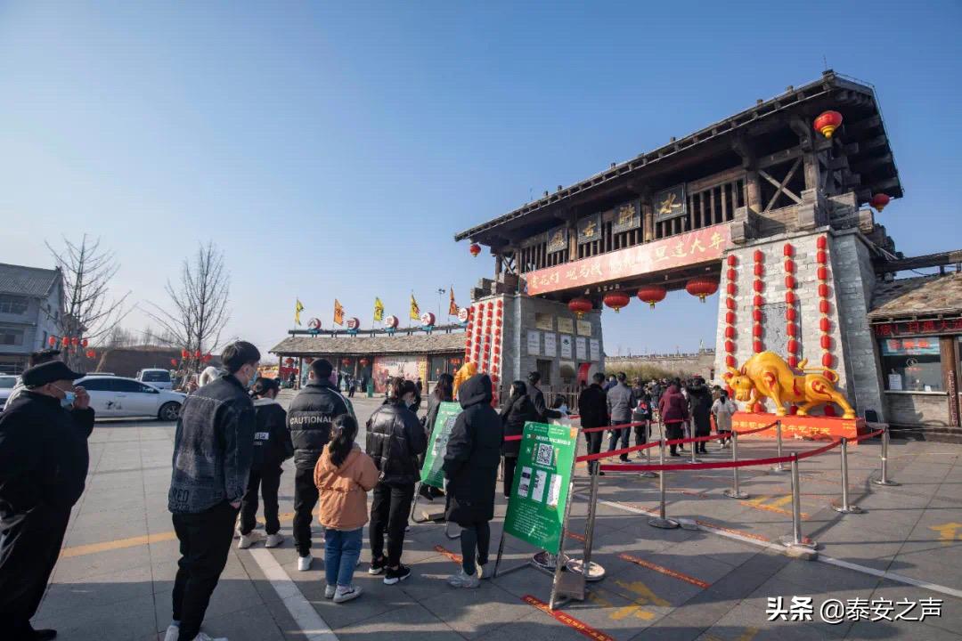 新春走基层丨东平湖景区春节期间游客量和营收创历史新高