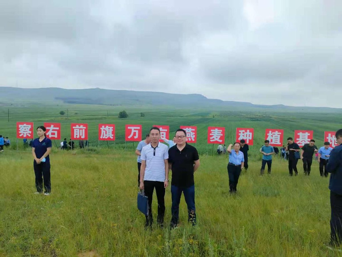 华豫万通应邀参加第四届中国燕麦荞麦产业大会