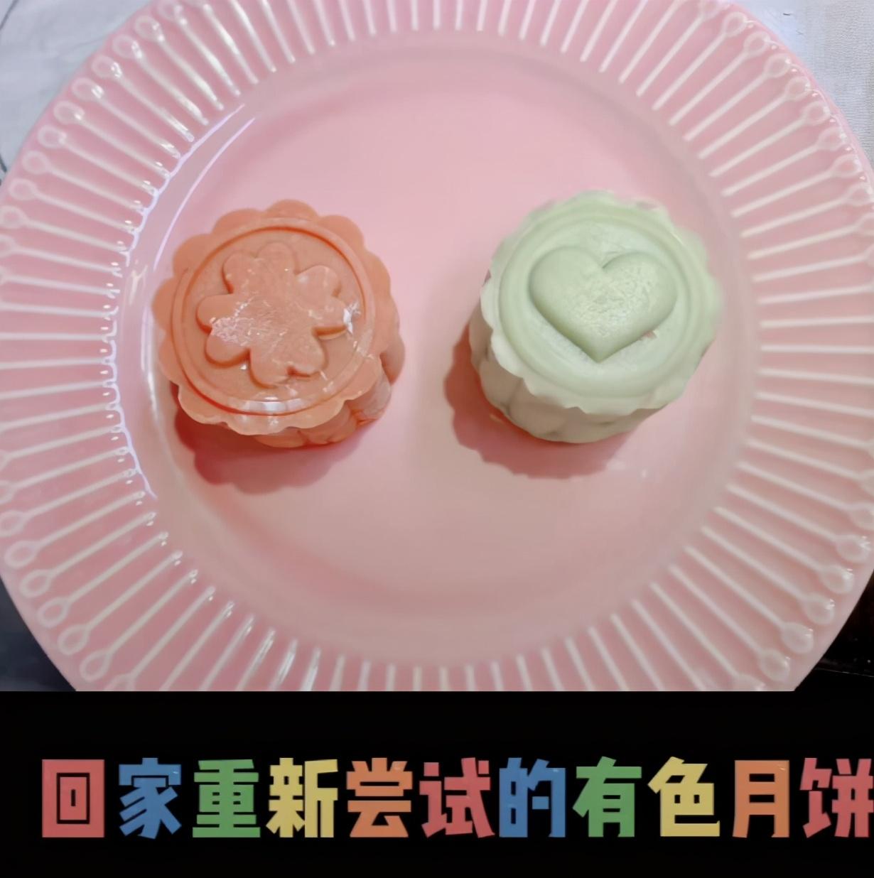 奚梦瑶亲自学做月饼展贤惠一面,不忘表白老公何猷君,甜齁