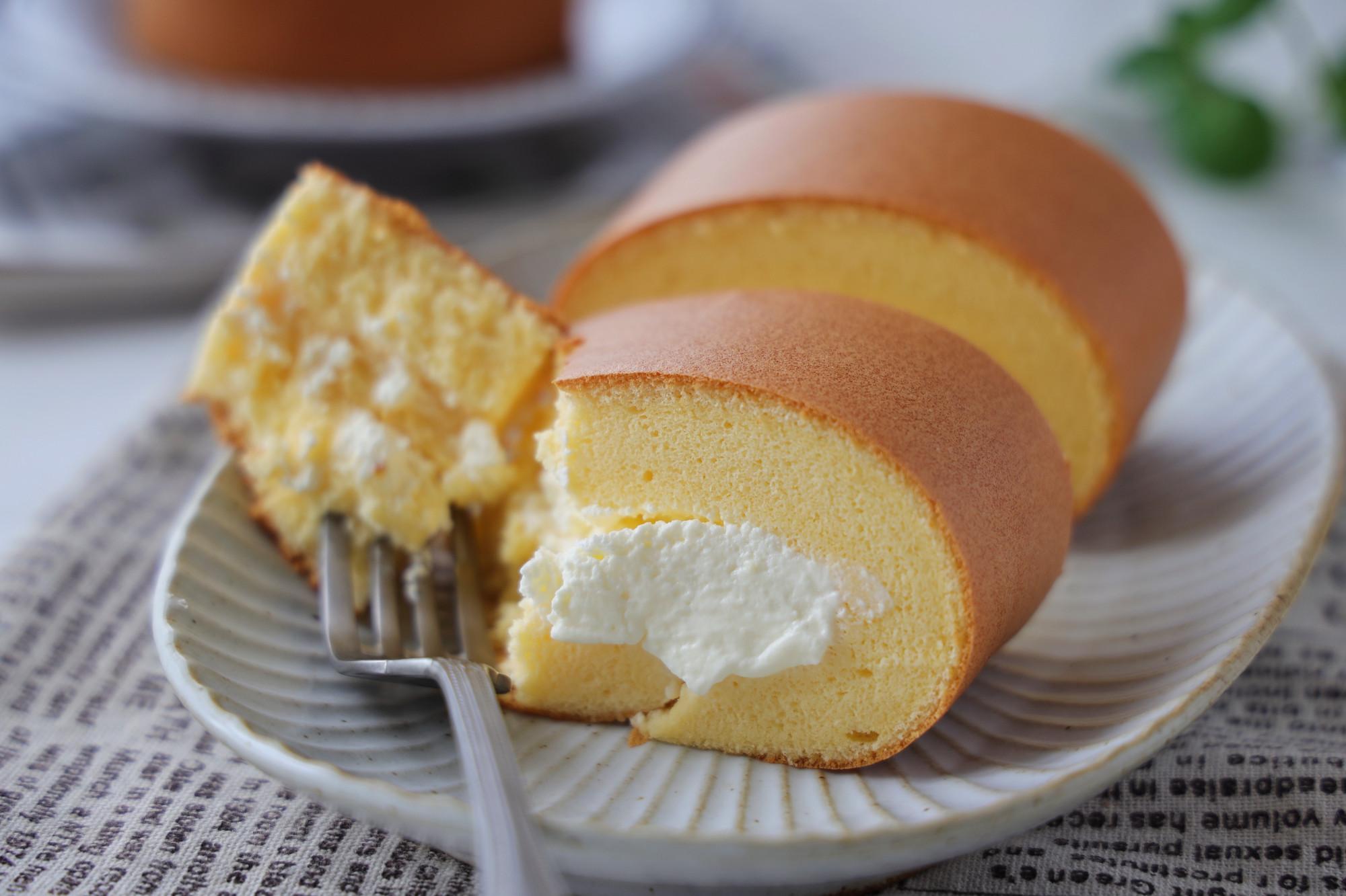 完美的蛋糕卷做法,綿軟細膩不開裂,比甜品店的更加美味又健康