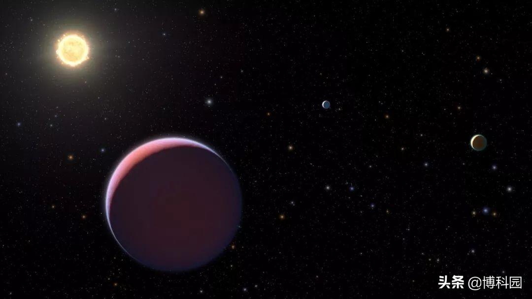 棉花糖般的行星:质量不超过地球的几倍,但体积却跟木星一样大