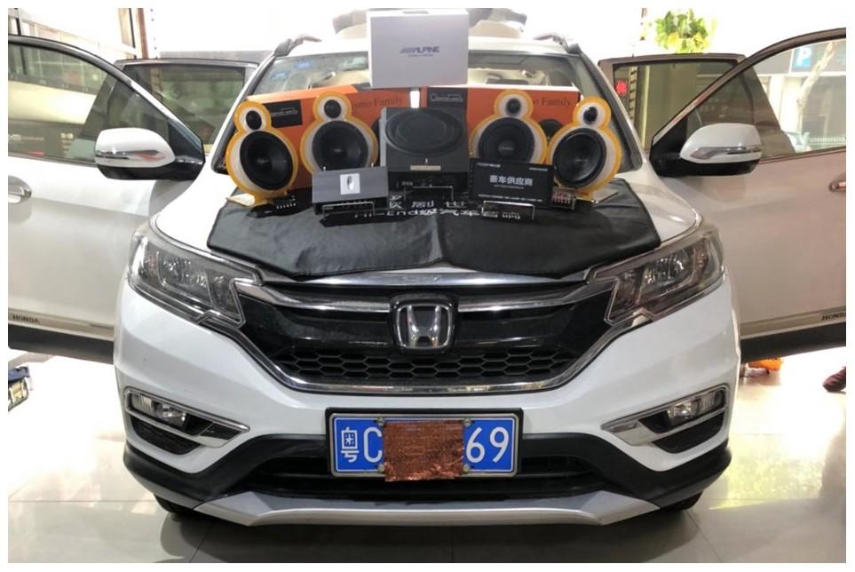 志同道合的你,怎么错过本田UR-V这套音响改装方案?