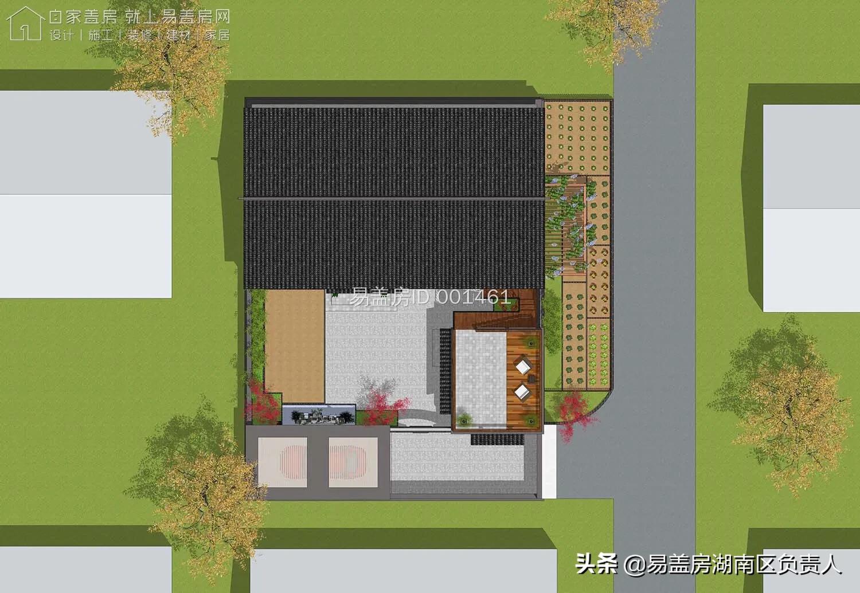 26萬打造二進位制小院,三面不開窗避開鄰居困擾!