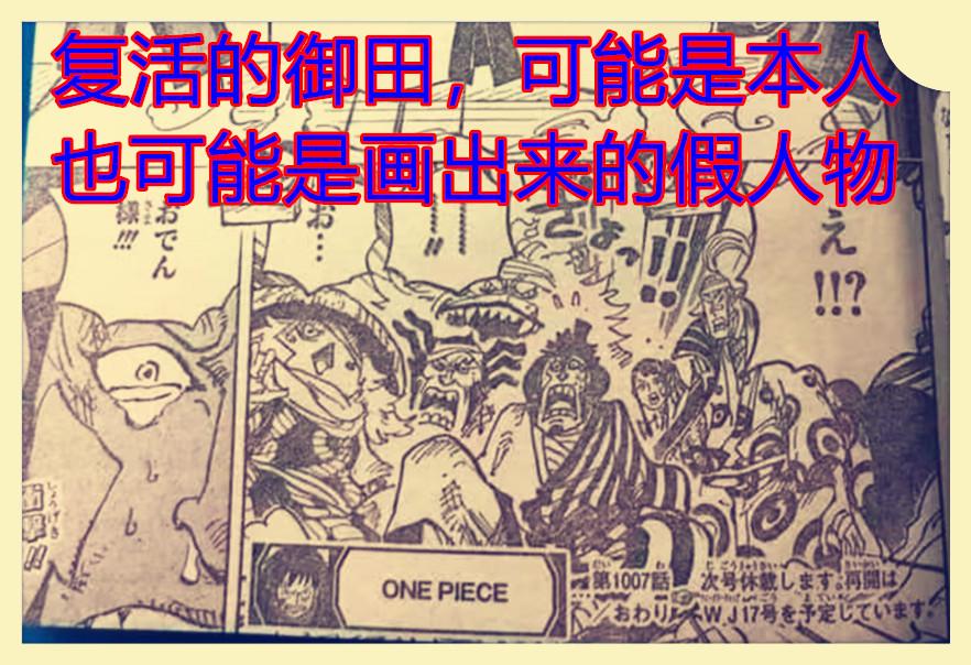 海賊王1007話,CP0揭曉凱多,曾被貝加龐克研究血統因子