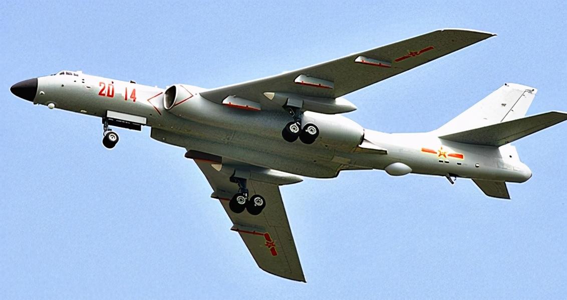 一旦兩岸開始交手,打破穿透臺灣空域其實用不到轟20,轟6就夠了