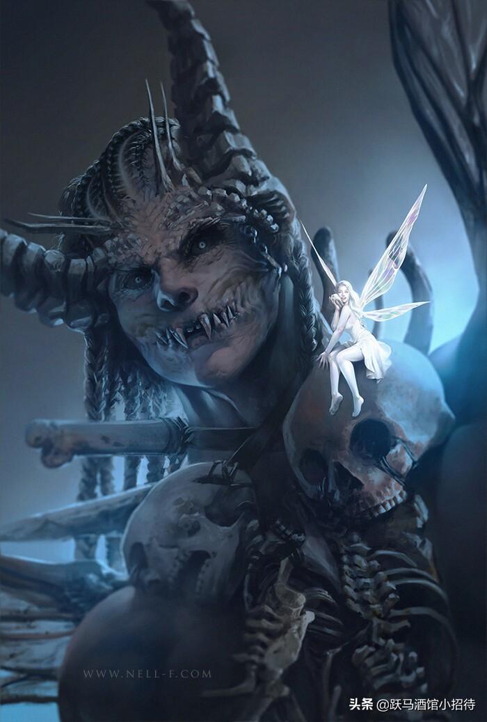 《地狱男爵》中的黑暗怪物:牙仙篇