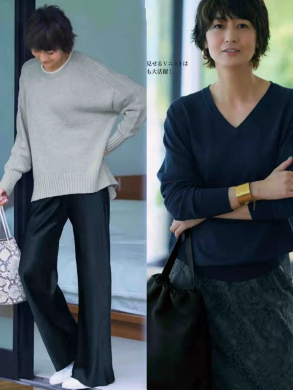 40岁女人可照搬的秋季穿搭,不扮嫩、不显老,每套都出彩不简单