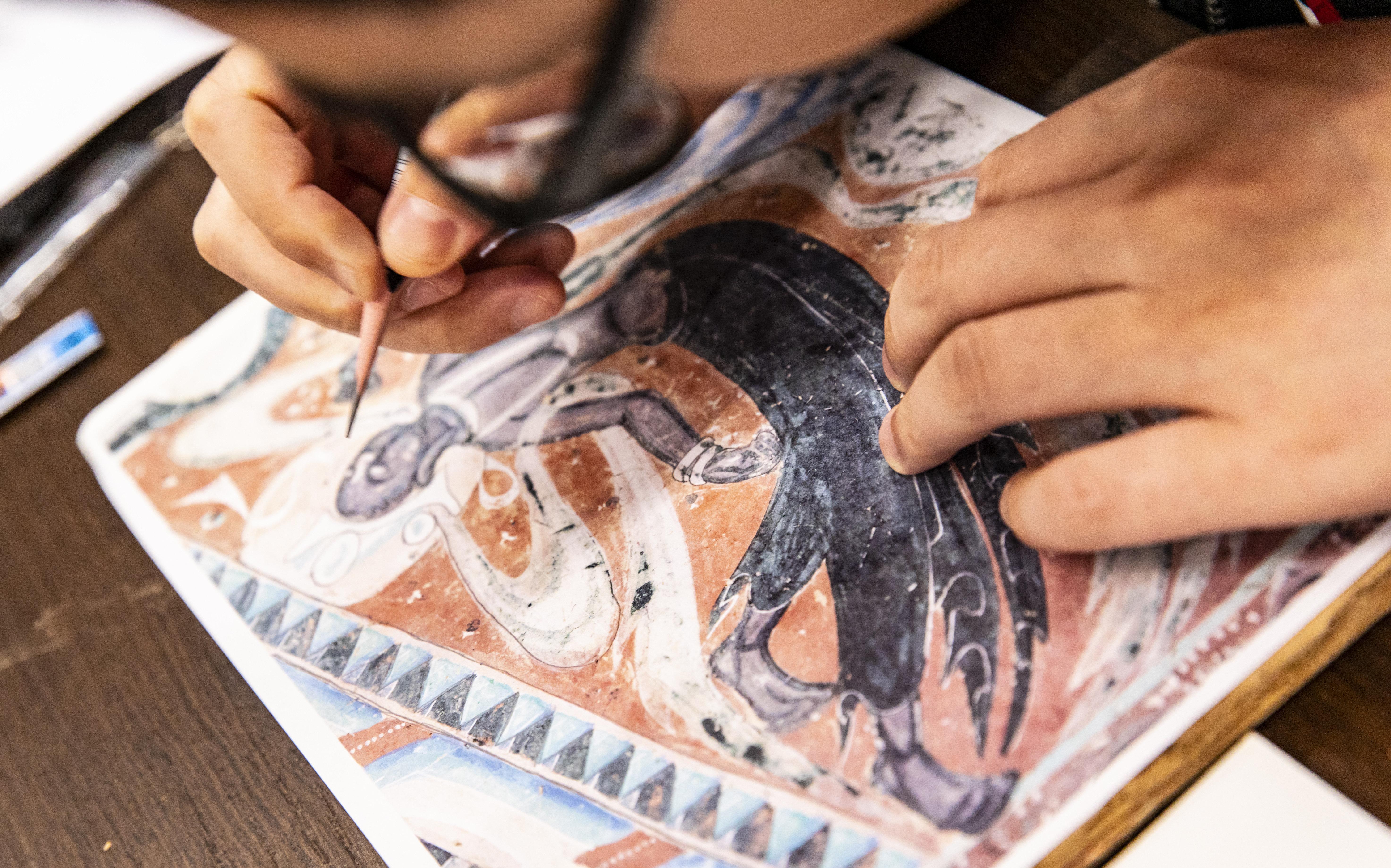 敦煌研究院美术人才学习交流基地在波克城市正式揭牌成立