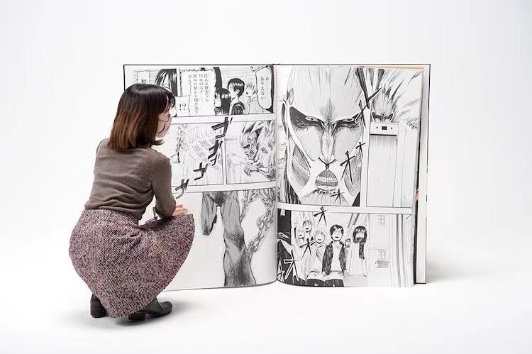 「巨人用」版漫畫破吉尼斯紀錄,最爛附加頁紀錄能預定嗎?