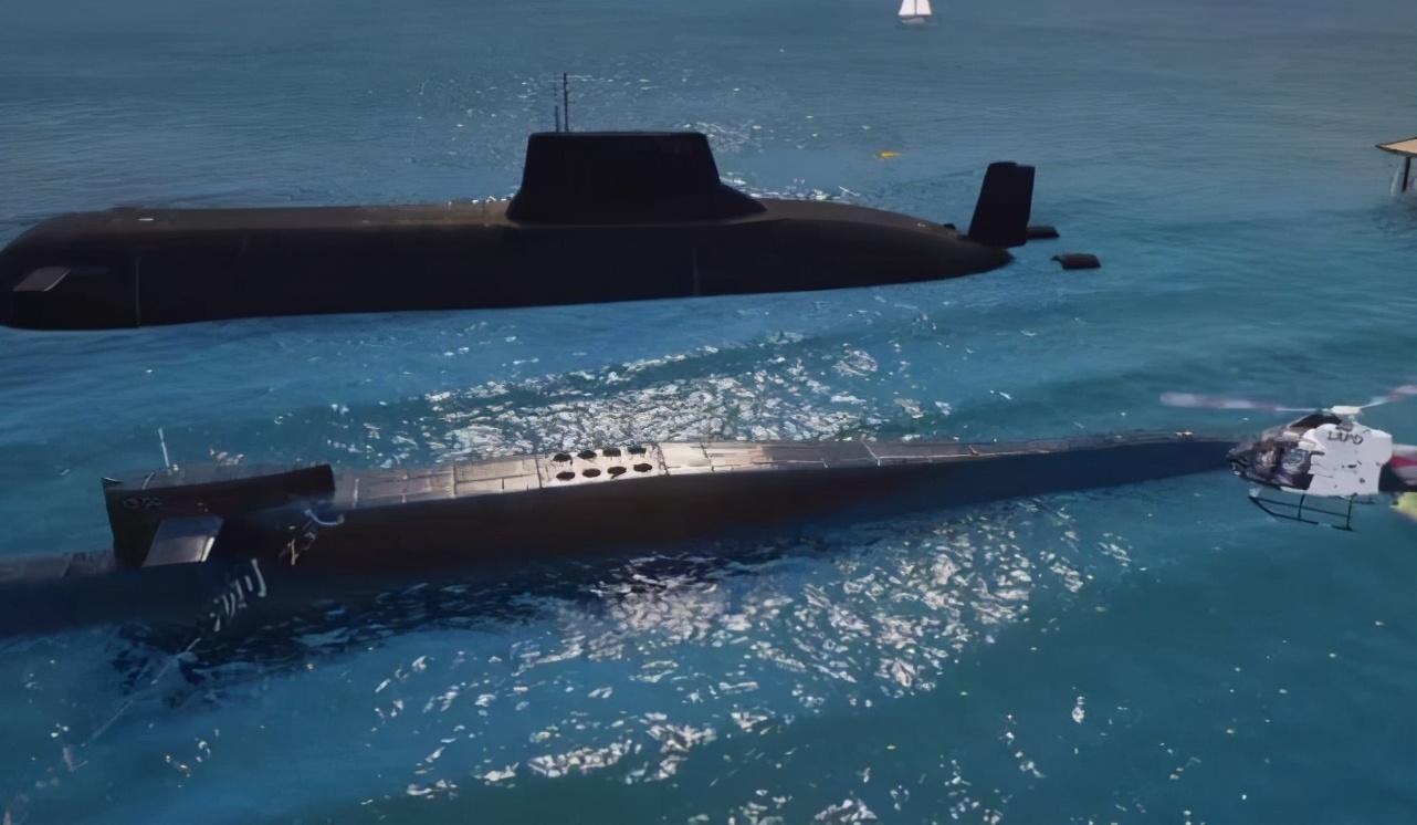《GTA5》两大超级潜艇对比,博格丹VS虎鲸谁才是最终王者?