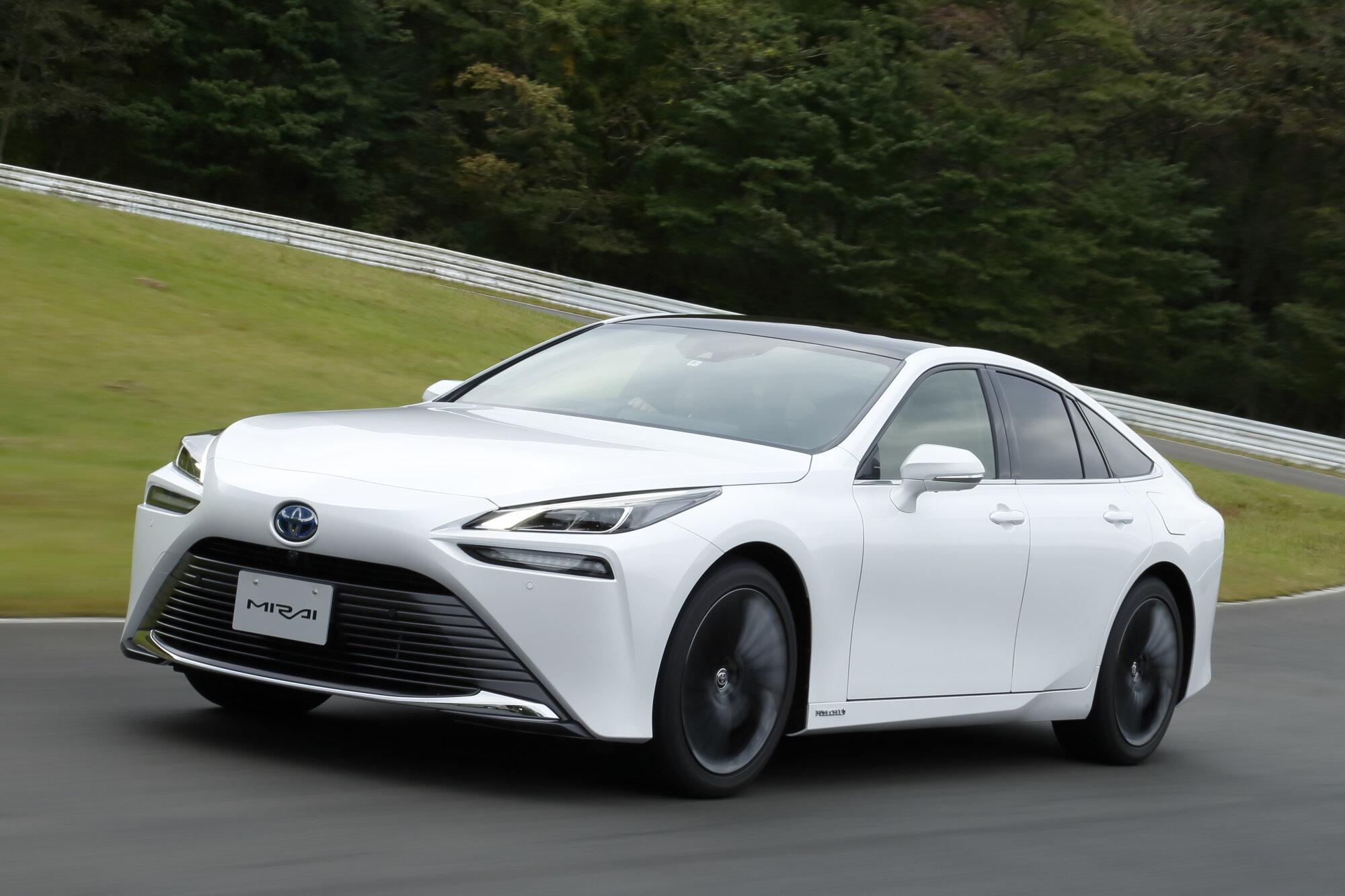 丰田氢燃料汽车Mirai II的欧洲售价比特斯拉电动汽车便宜