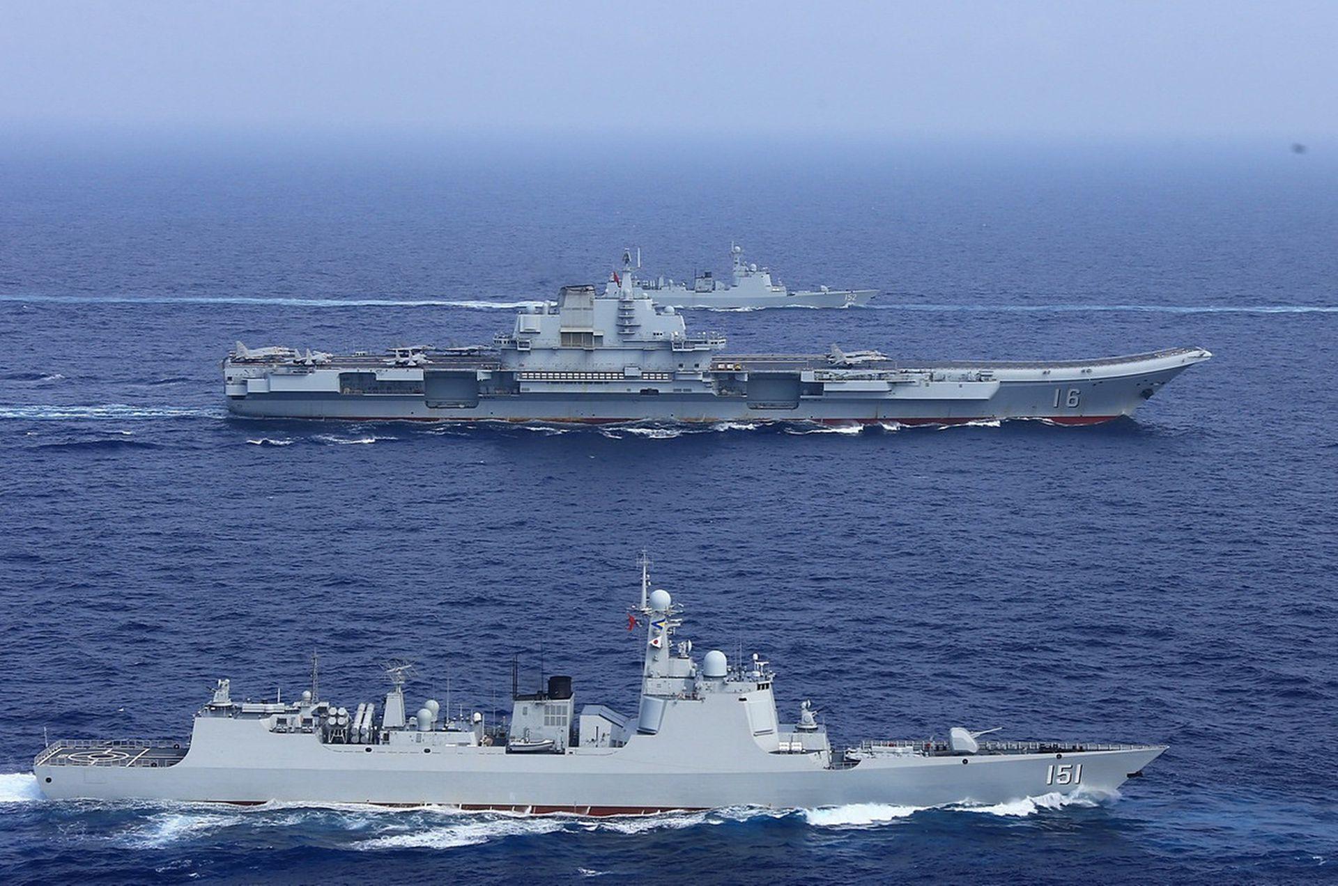 2艘航母32艘盾舰!中国海军3年半主力翻倍,新盾舰超日本海自总数
