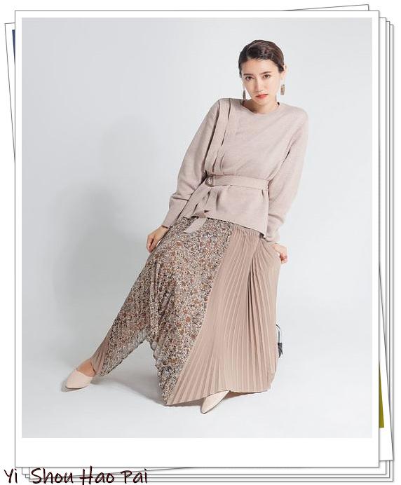 今年秋天想要变时髦很简单!穿这种流行的拼接式半身裙就可以