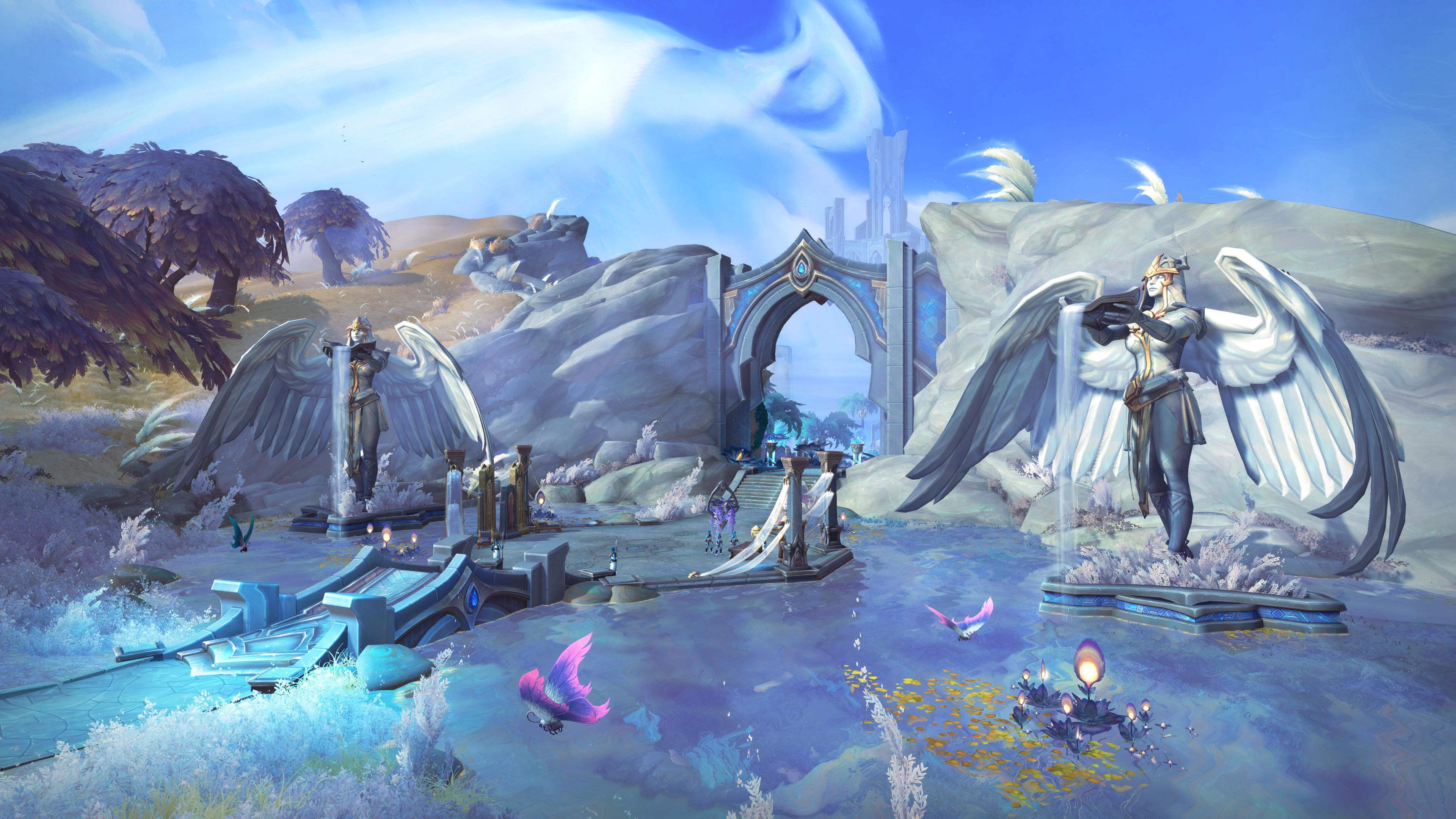 魔兽9.0前夕小号选择哪个版本升级?德拉诺只需要12个小时