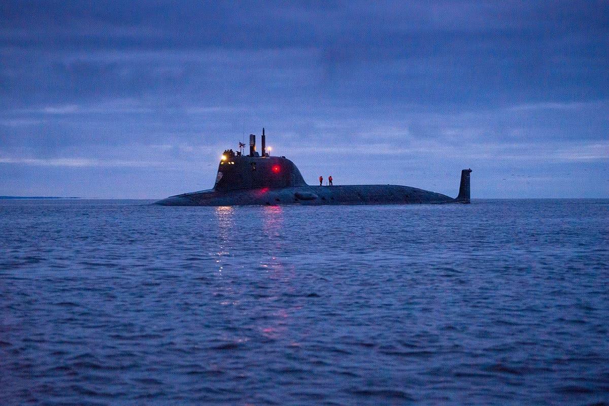 俄罗斯曾亮相攻击核潜艇,下潜深度超越弗吉尼亚,排水量也是亮点