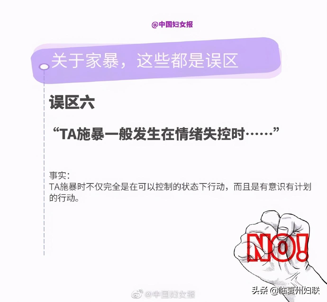 11.25国际反家庭暴力日,对家暴说:NO!