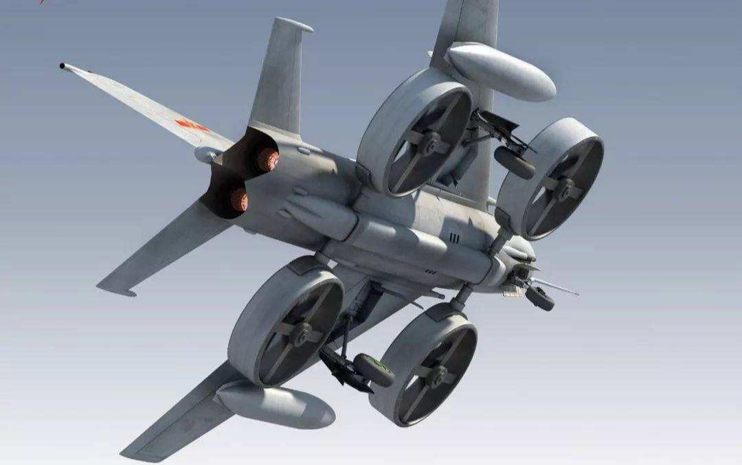 只要我们有矢量喷口航空发动机
