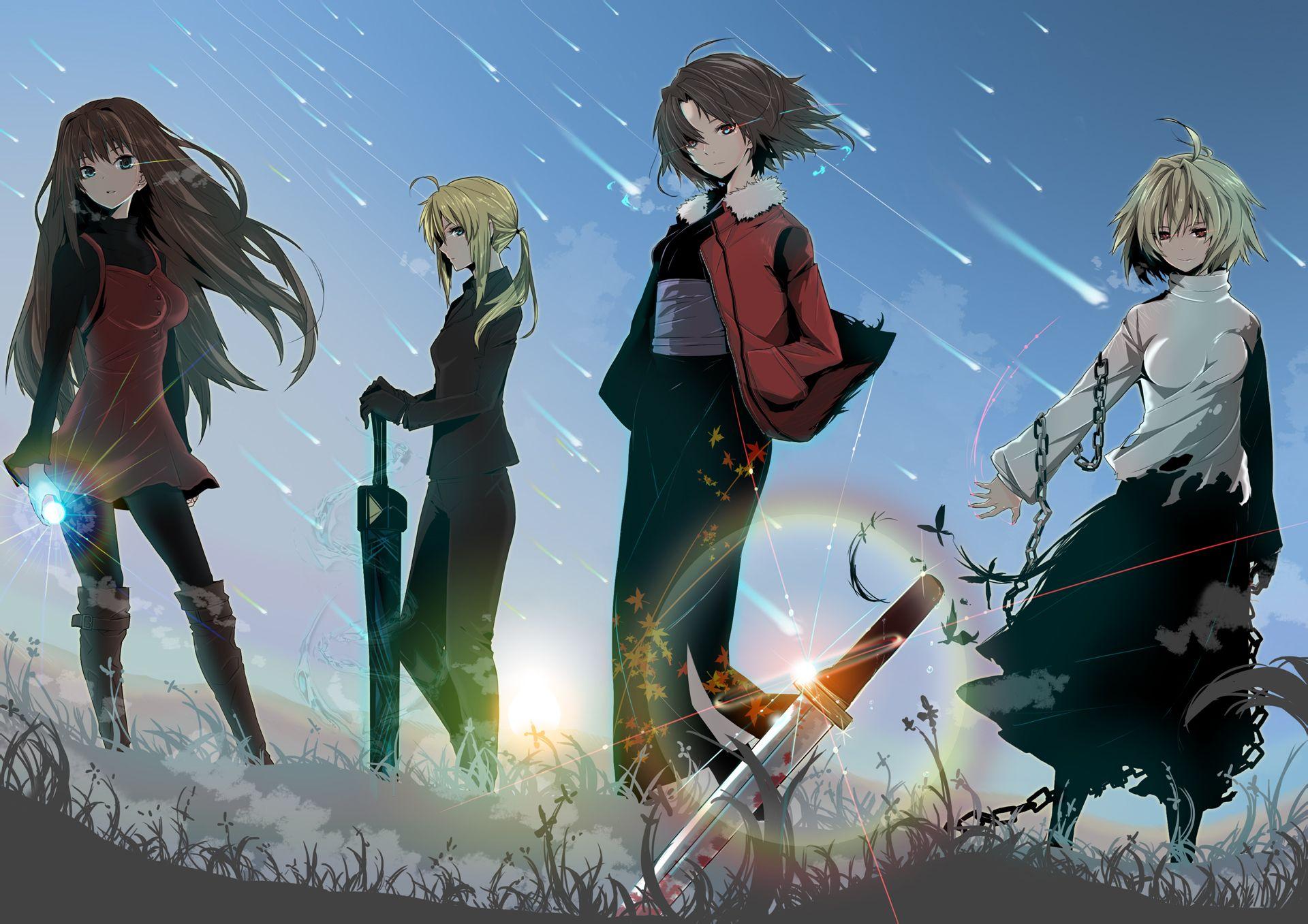 型月世界中的四大女主,saber成為人氣之王,其余都不溫不火