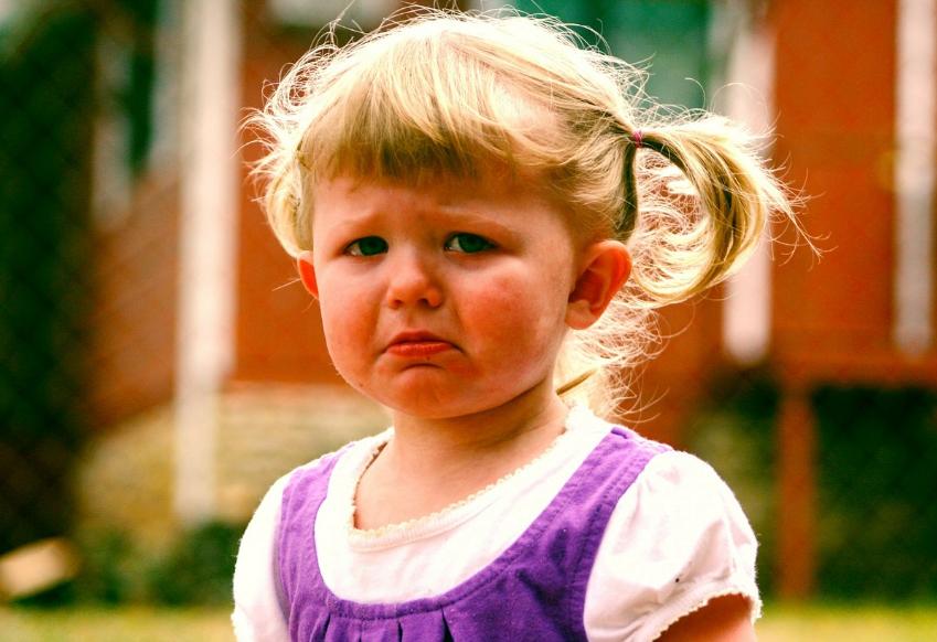 """童心理学者建议:孩子""""发脾气""""是好事,家长要懂得珍惜"""