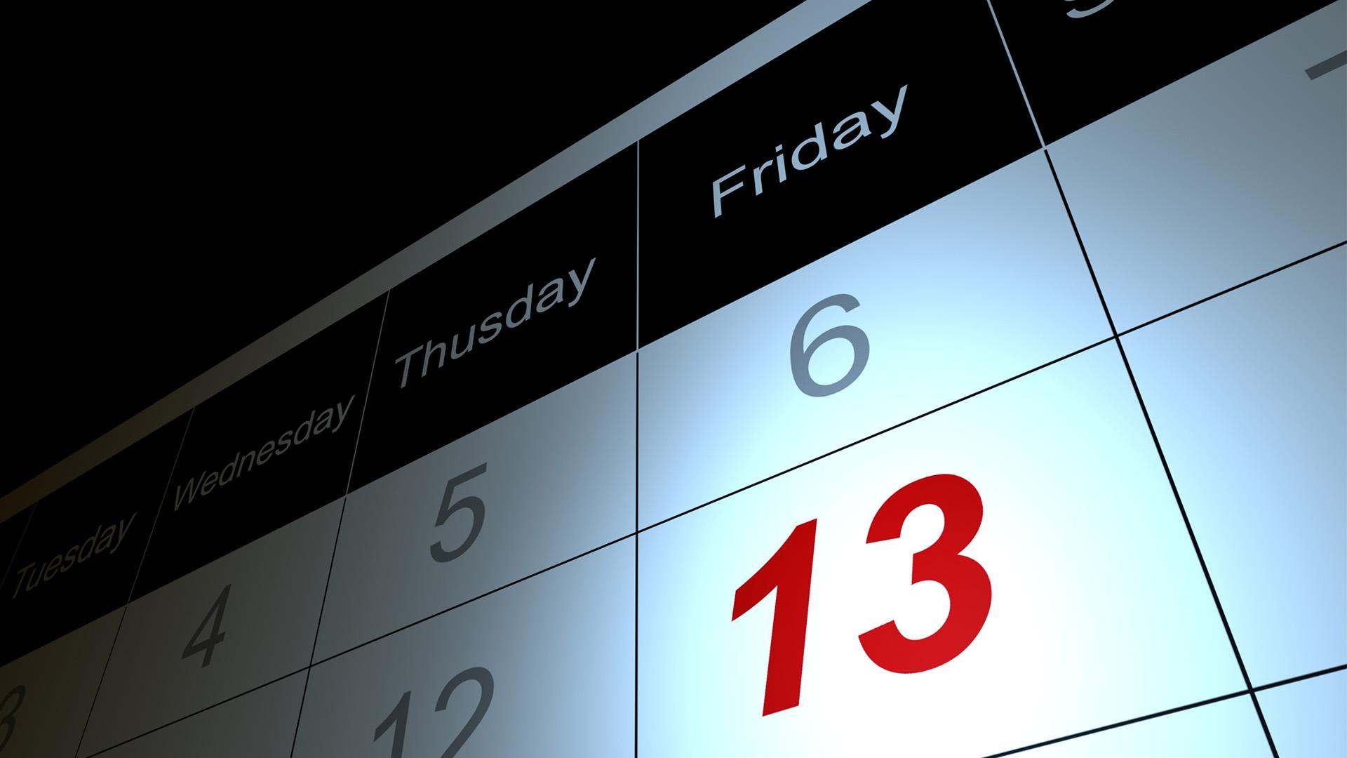 当13号碰着星期五,为甚么良多人都市感应无畏?