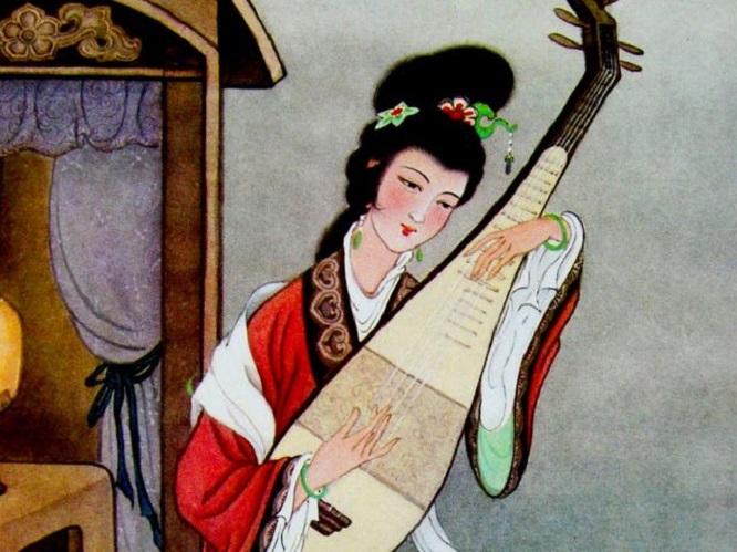 """""""葡萄美酒夜光杯,欲饮琵琶马上催"""",古代流行乐器—琵琶的韵味"""