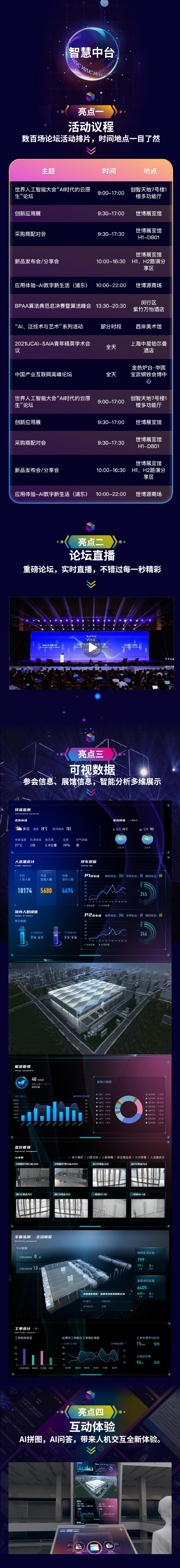 """""""遇见未来,AI应用全体验""""WAIC 2021剧透系列"""