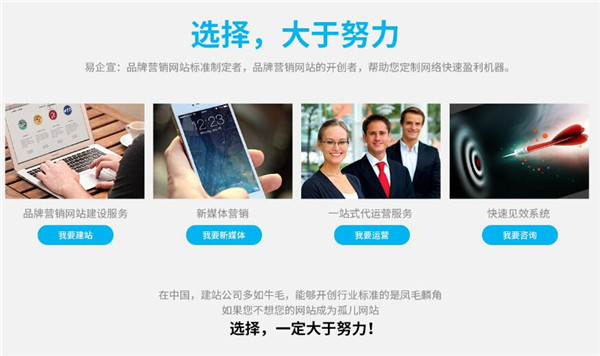 北京易企宣科技有限公司告诉你,网站代运营服务是这样收费的!