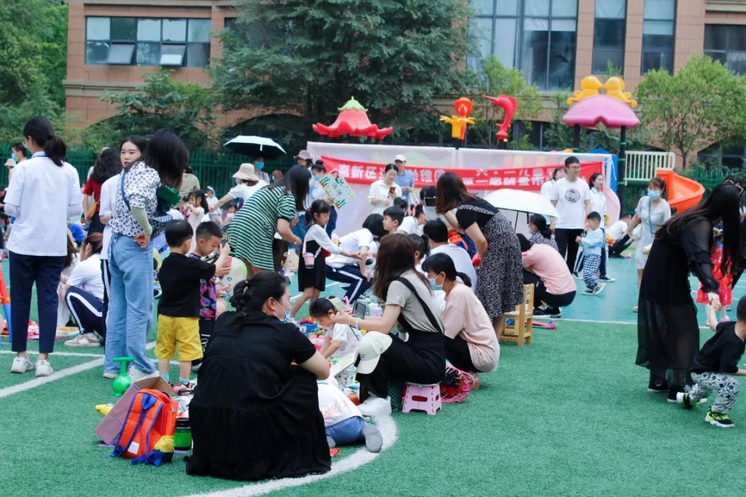 """高新区汇爱幼稚园丨""""跳蚤市场""""火爆进行中"""