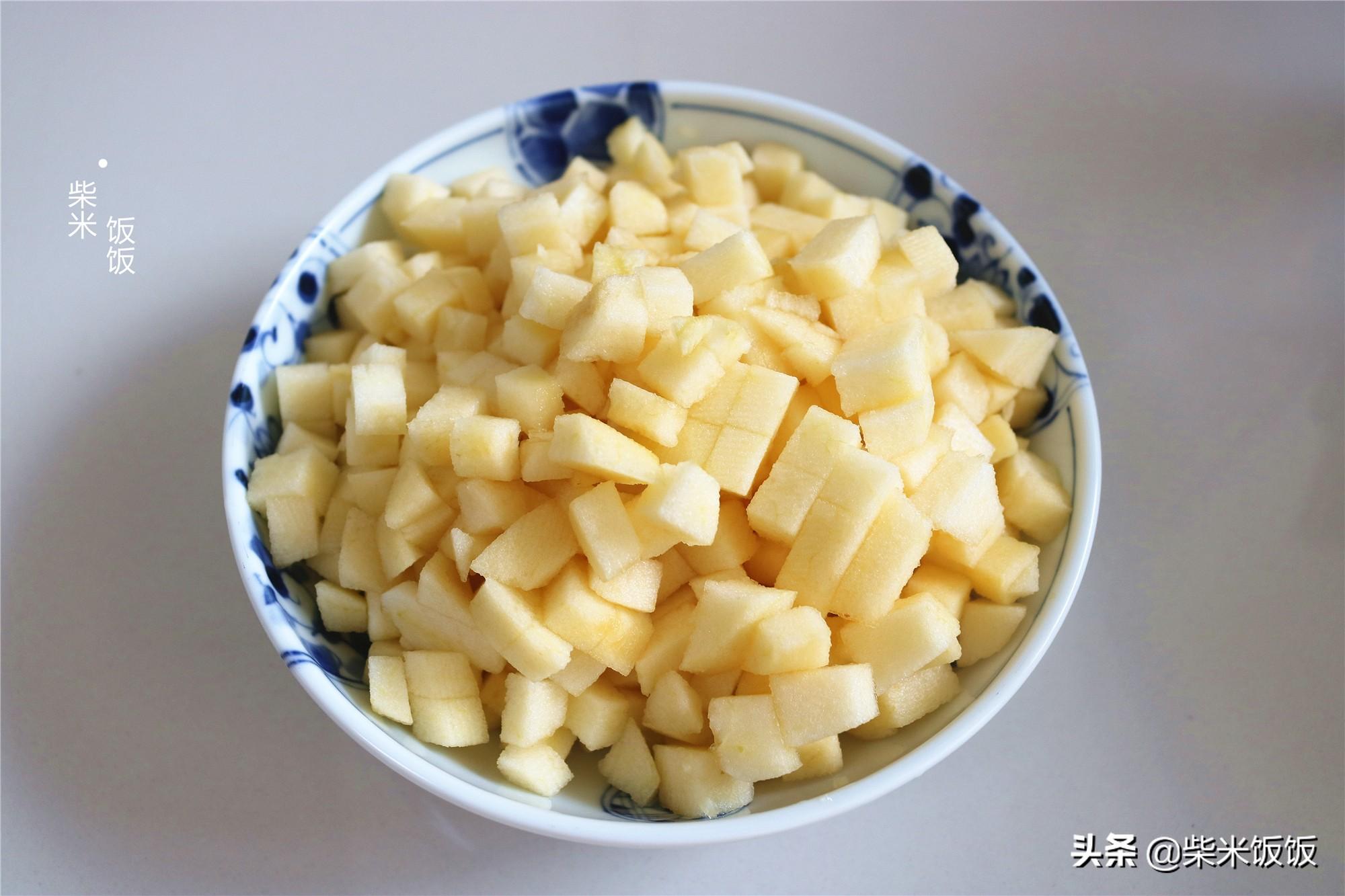蘋果換一種吃法,兩口一個酥掉渣,孩子特別喜歡,太好吃了
