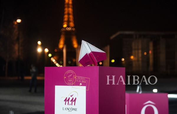 满载巴黎来宠你!从巴黎到北京,兰蔻 (Lancôme) 双十一狂欢盛大开启!
