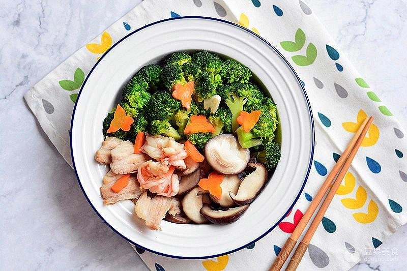 虾仁炒时蔬的做法