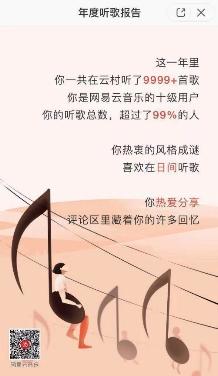 网易云音乐年度听歌报告出炉:用音乐总结2018