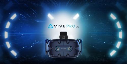 HTC公布新戴着VR——VIVE PRO EYE/VIVE COSMOS