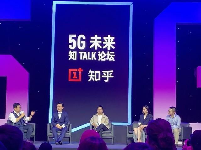 唐嫣助战 一加&知乎问答5G将来知TALK社区论坛在京举行