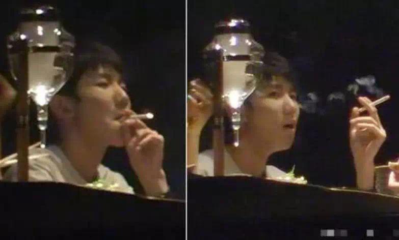 王源的半支烟