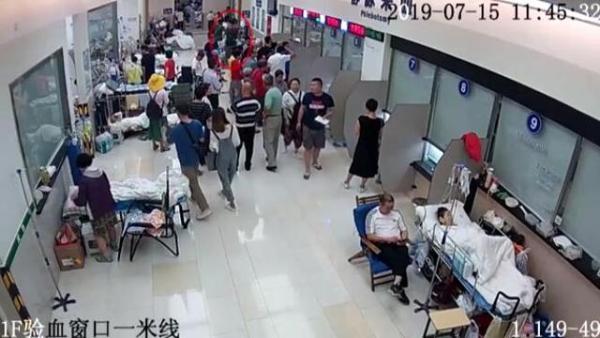 广东一男子潜入医院偷救命钱,反侦察能力极强,警方八日追回