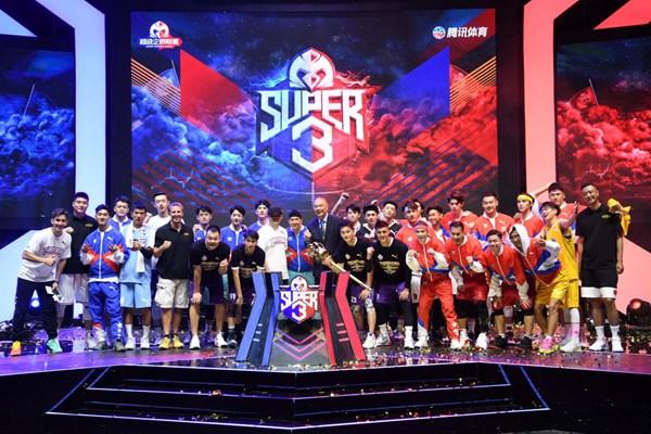 """腾讯体育""""超级企鹅联盟""""Super3上演总决赛"""