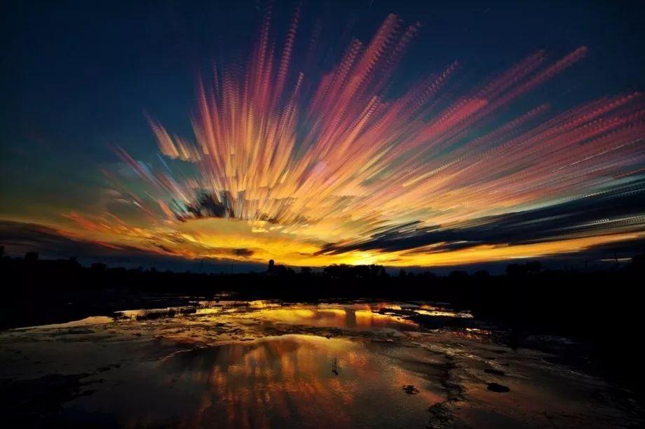 治愈系:是绘画还是摄影?这些图片里的天空太惊艳了