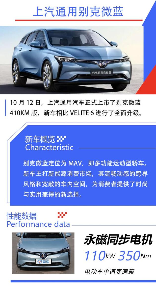 """别克汽车VELITE 6 PLUS售17.78万余元起 中文名字列入""""微蓝"""""""