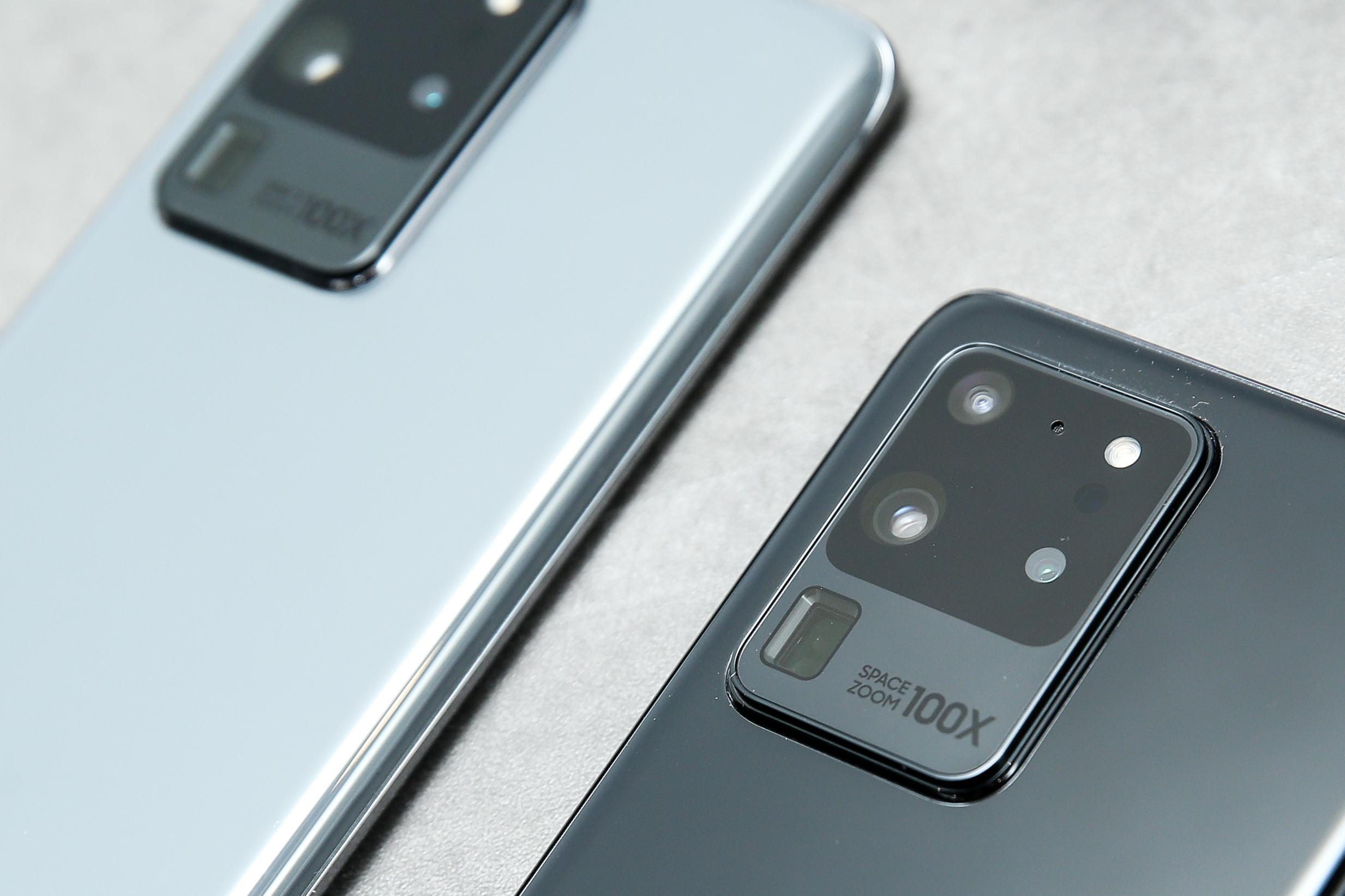 Серия Samsung Galaxy S20 - это все на практике, эта цветовая палитра действительно потрясающая