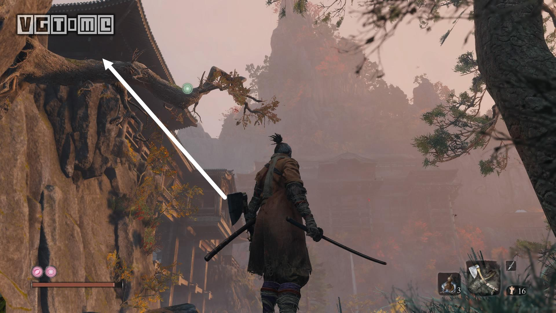 《只狼 影逝二度》《只狼》支线攻略:金刚山·找风车的和尚