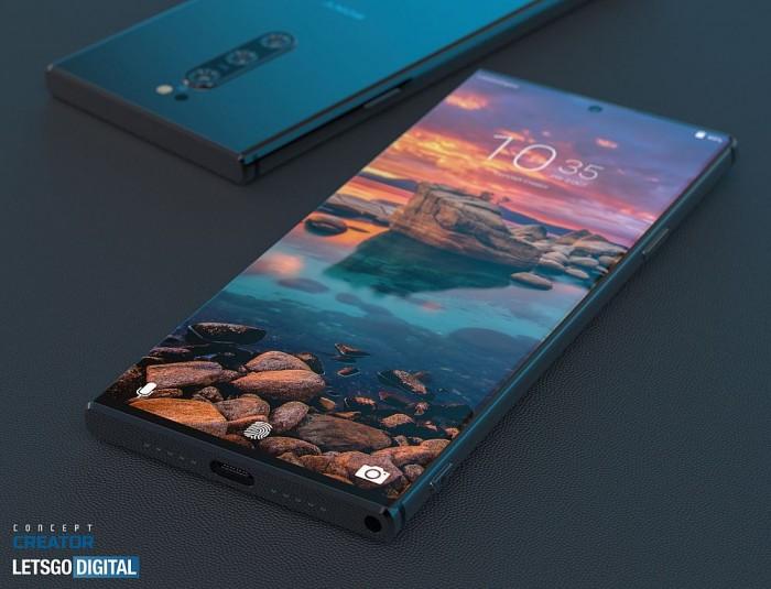 sonyXperia 5 Ⅱ3D渲染:它是你需要的紧凑高档5G手机上