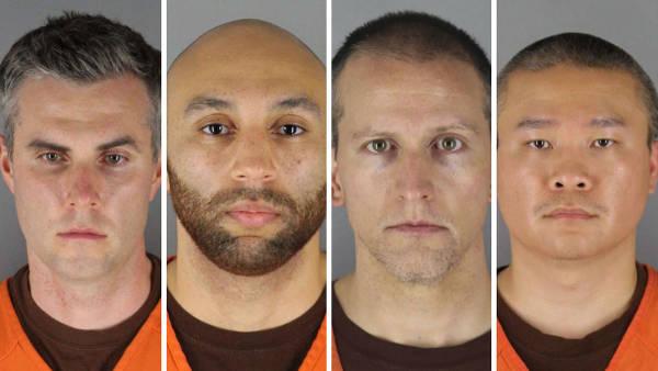 美国黑人弗洛伊德案主嫌疑人要求驳回谋杀指控