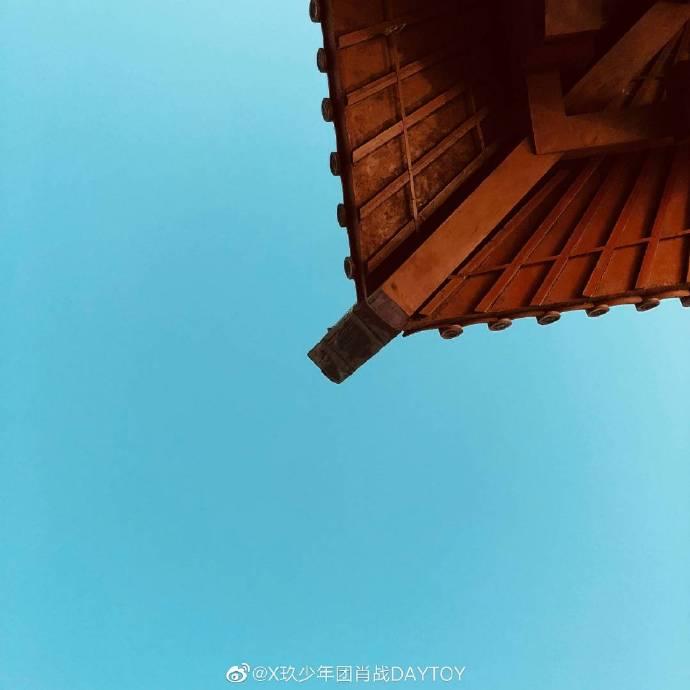 200605 摄影师肖战镜头下的天空 感受治愈人心的美好