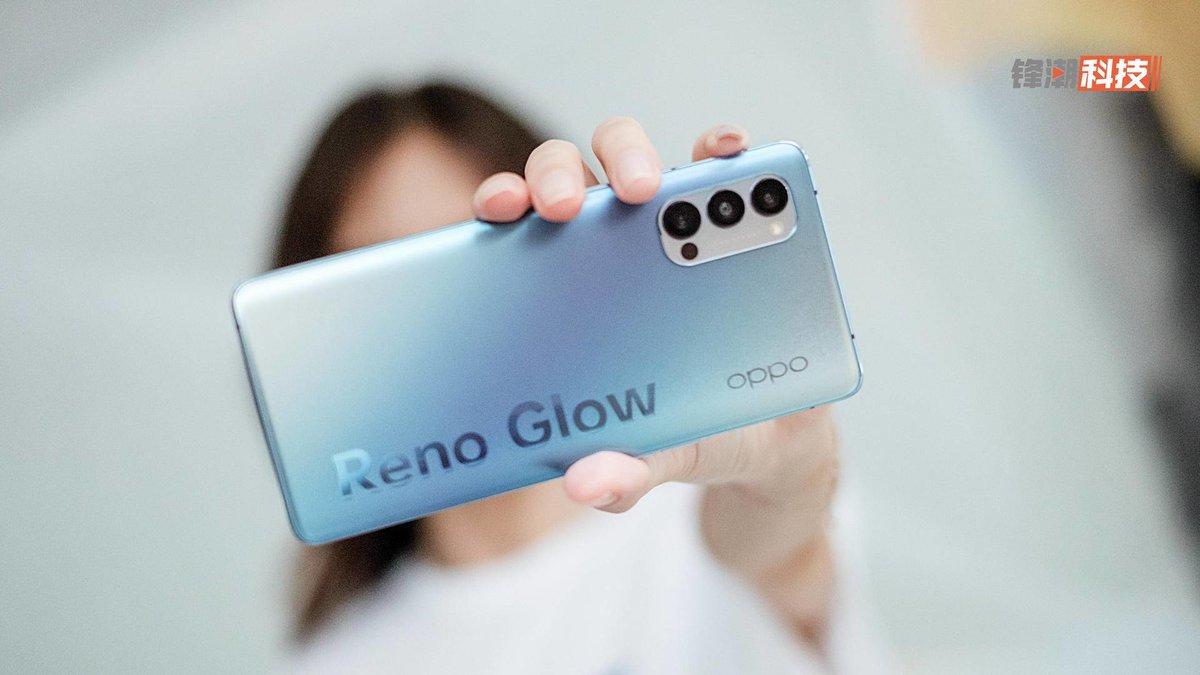 7.6毫米 纤薄外壳,OPPO Reno4 Pro 触感真的很不错