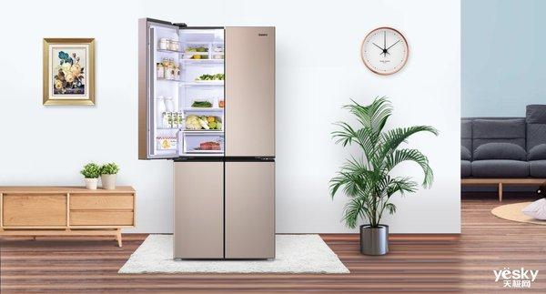 智能家居品质生活,高颜值智能化冰箱谁不爱呢