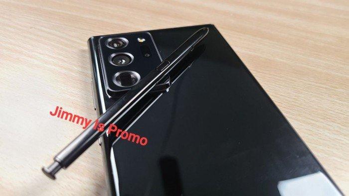 网民发布三星Galaxy Note 20真机照:外观设计有转变