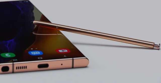 就在不久!三星Note20系列产品宣布公布,显示屏超棒