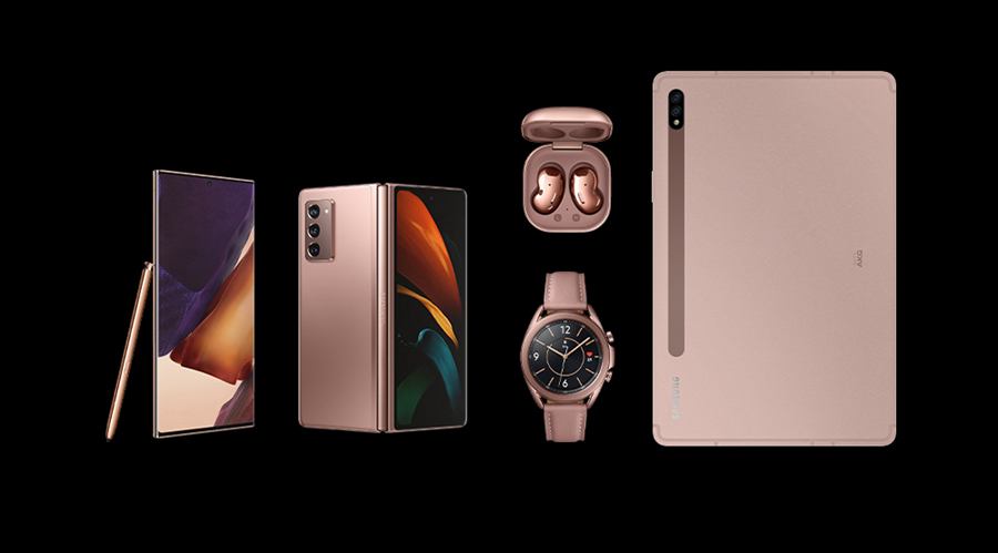三星秋天新产品发布会回望:Note20系列产品、折叠手机、5G平板电脑等一大波新产品